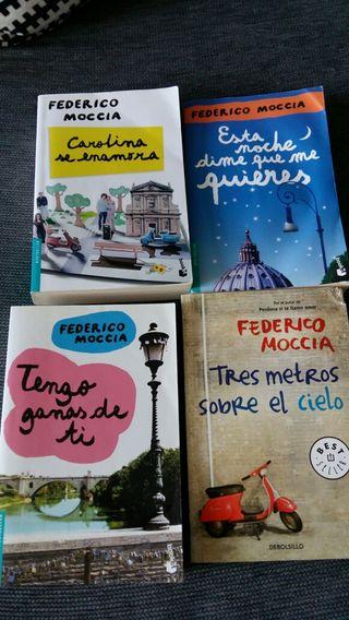 Libros de Federico Moccia