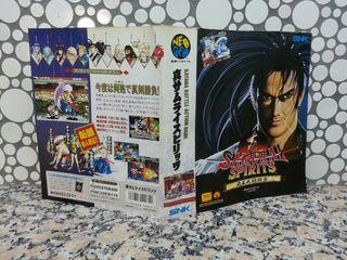 "Insert de ""Samurai Spirits 2"" de NeoGeo AES"