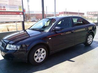 Audi A4 gasolina 2000CC 130cv Año 2001