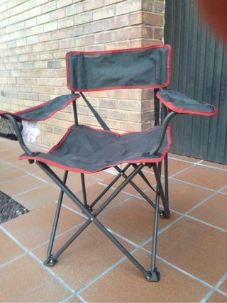 Sillas plegables para camping de segunda mano en wallapop for Sillas de jardin segunda mano