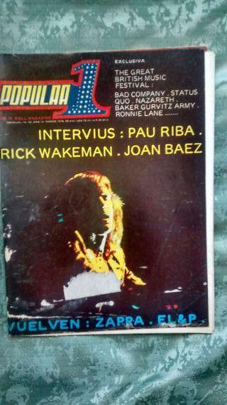 Revista popular 1 n33 - Marzo 76 - Rick Wakeman