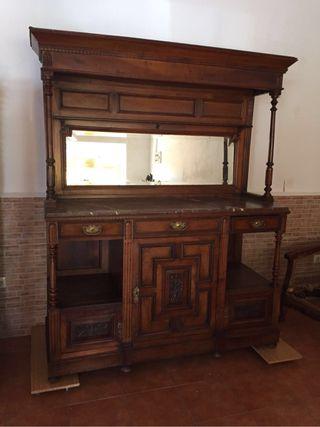Precioso mueble antiguo de segunda mano por 475 en sotillo de la adrada wallapop - Wallapop muebles antiguos ...