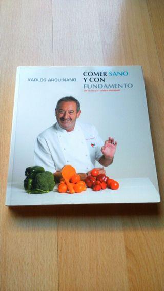 Libro recetas cocina de Karlos Arguiñano nuevo