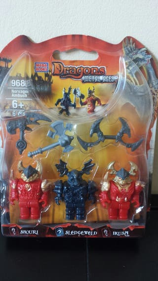 "Mega Blocks Dragons Metal Ages ""Norvagen Ambush"""