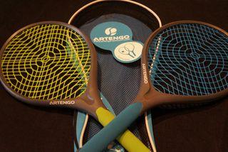 Raquetas tenis ARTENGO con funda.