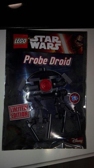 Lego star wars edicion limitada probe droid.