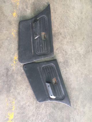 Paneles de cuero traseros bmw e30