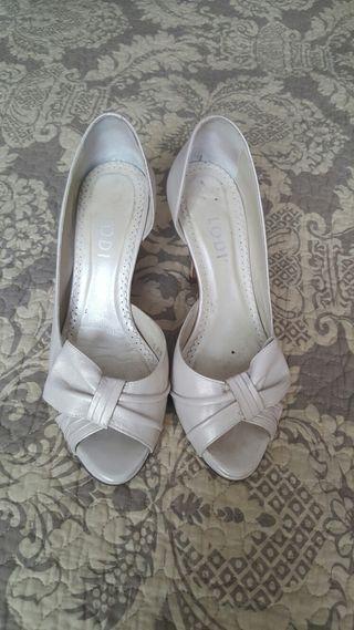 Zapatos Lodi de novia del Corte Ingles