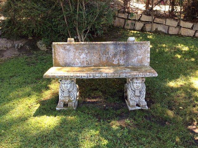 Bancos jardin de piedra de segunda mano por 90 en fuente - Bancos de piedra para jardin ...