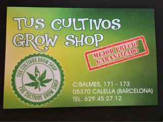 Grow shop Mejor precio TUS CULTIVOS GROW SHOP
