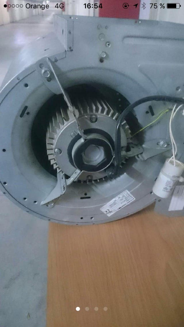 extractor cocina industrial campana turbina de segunda