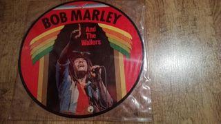 Disco serigrafiado BOB MARLEY