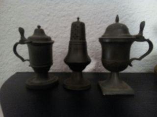 3 Especieros antiguos siglo XVII