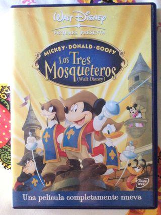 Los Tres Mosqueteros DVD