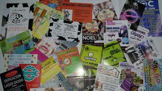 Imprenta . Flyer. Tarjetas de visita. Abanicos. Calendarios. Carpetas . Block . Talonarios. Entradas y ticket con o sin numerar.