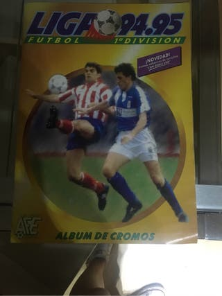 Álbum de cromos liga 94-95