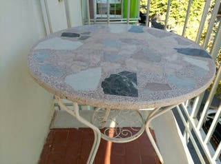 Mesa mármol piedra jardín
