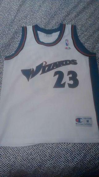 Camiseta Michael Jordan Washington Wizards
