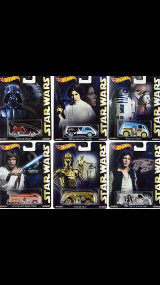 Hot Wheels Star Wars Pop Culture 2015