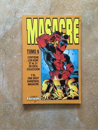 Comic Masacre tomo 6