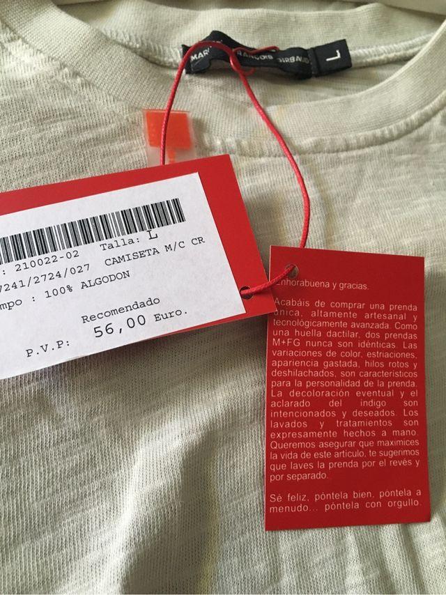 51ac6aea71 Camiseta de hombre MARITHE FRANÇOIS GIRBAUD !!!! de segunda mano por ...