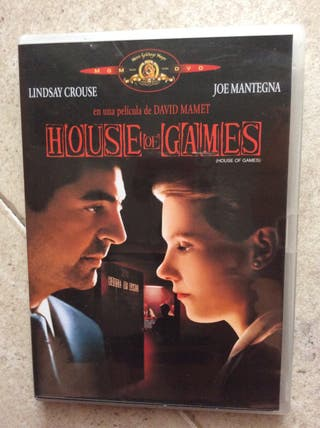 HOUSE Of GAMES DVD