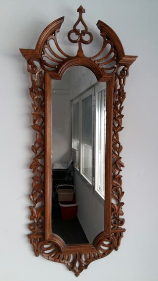 Espejo Madera tallada a Mano