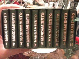 Los diez mandamientos. Libritos.
