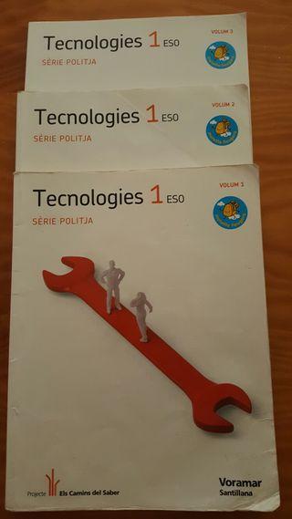 Libro 1 ESO Tecnologies Voramar Santillana