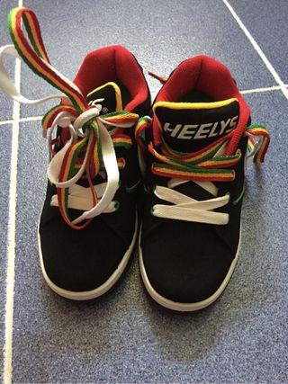 Zapatillas ruedas Heelys sin estrenar talla 32