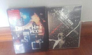Lote DVD Depeche Mode.