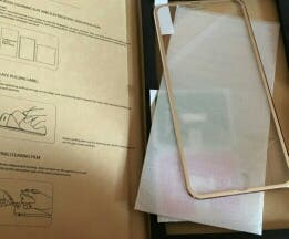 Cristal templado curvo iPhone 6/6s y 6/6s plus