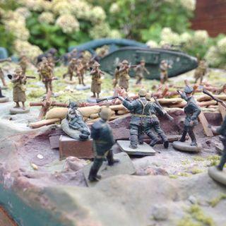 Diorama batalla de Verdum