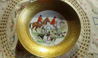 Plato de porcelana de Bavaria