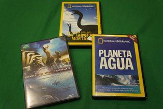 Pack de 4 películas naturaleza y mundo animal