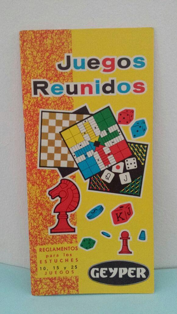 Reglamento Juegos Reunidos Geyper De Segunda Mano Por 5 En Madrid