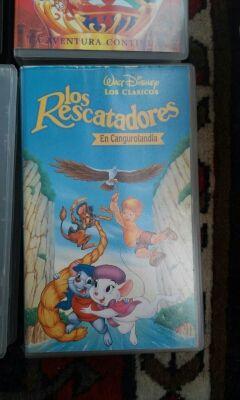 VHS Los rescatadores