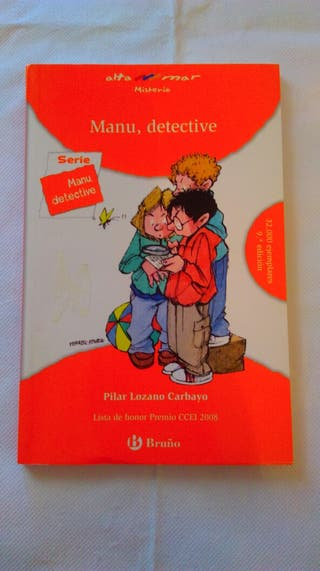 Manu, detective, de Pilar Lozano Carbayo