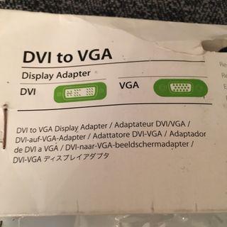 Adaptador DVI a VGA
