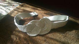 Cinturón plata