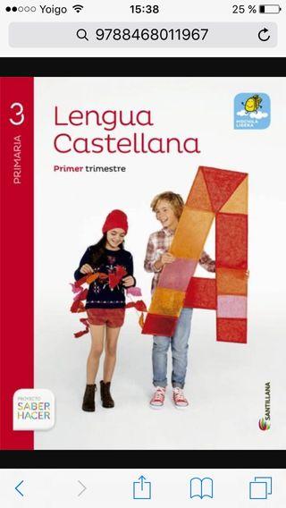 Libro lengua tercero de primaria