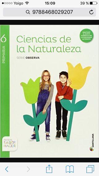 Libro sexto de primaria
