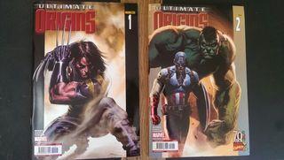 Ultimate Origins, coleccion de 2 comics