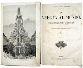 Edición de 1864 - LA VUELTA AL MUNDO - 6 TOMOS