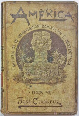 Edición 1894. América Historia De Su Colonización