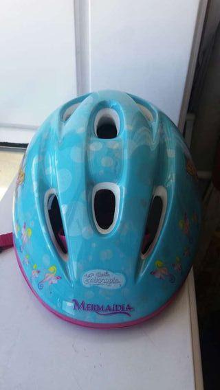 Casco de bicicleta para niña