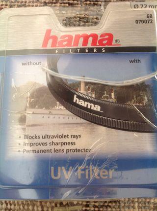 Filtro UV HAMA 72 mm 070072