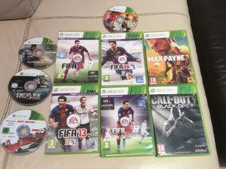 10 JUEGOS para consola Xbox