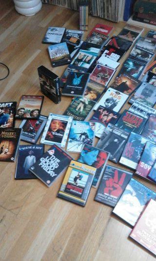 Lote de DVD en ingles