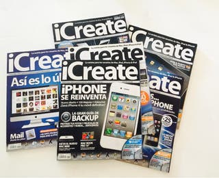 Revistas iCREATE. Informática, Mac, Ipod, Iphone